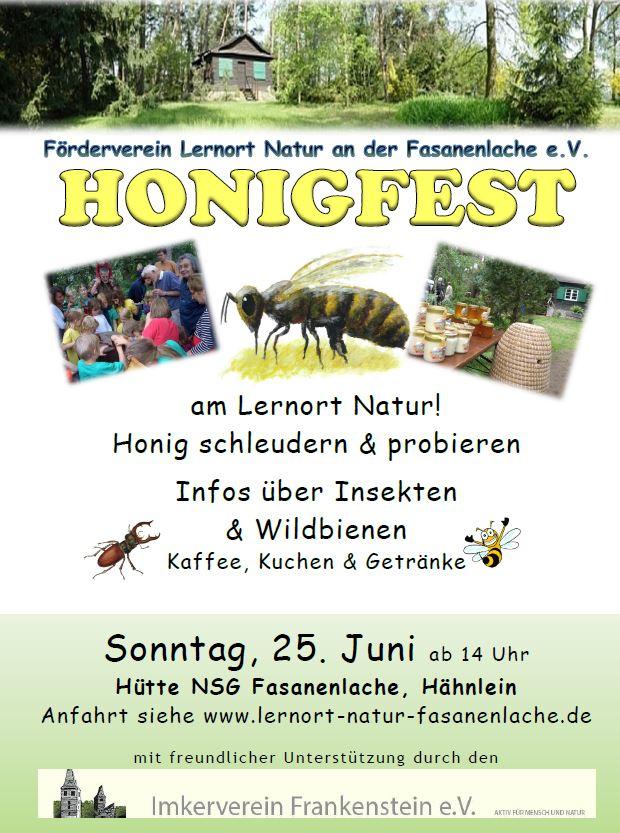 Honigfest 2017 Lernort Natur
