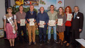 Die Gewinner der Honigprämierung 2017